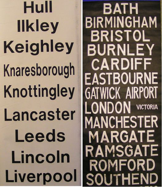 Out of London Signs