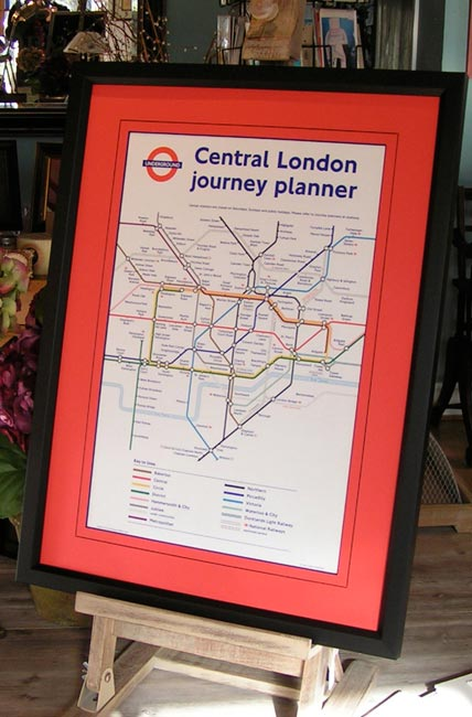 Central London Journey Planner