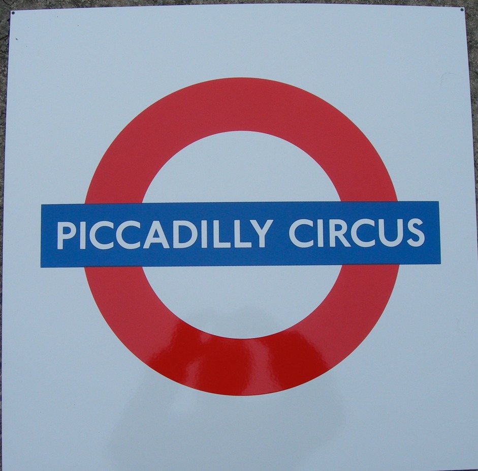 Piccadilly Circus Roundel