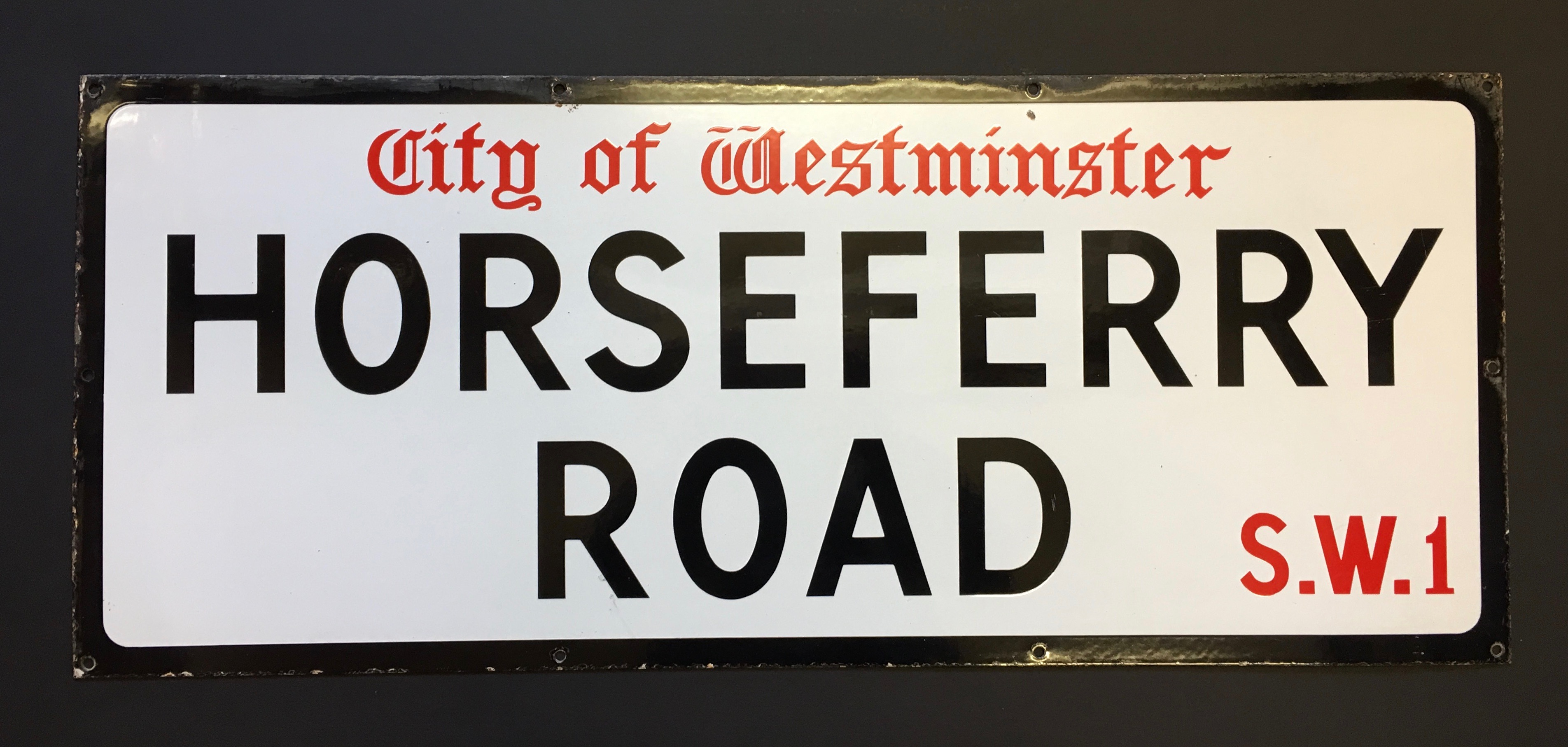 Horseferry Road, Westminster SW1.