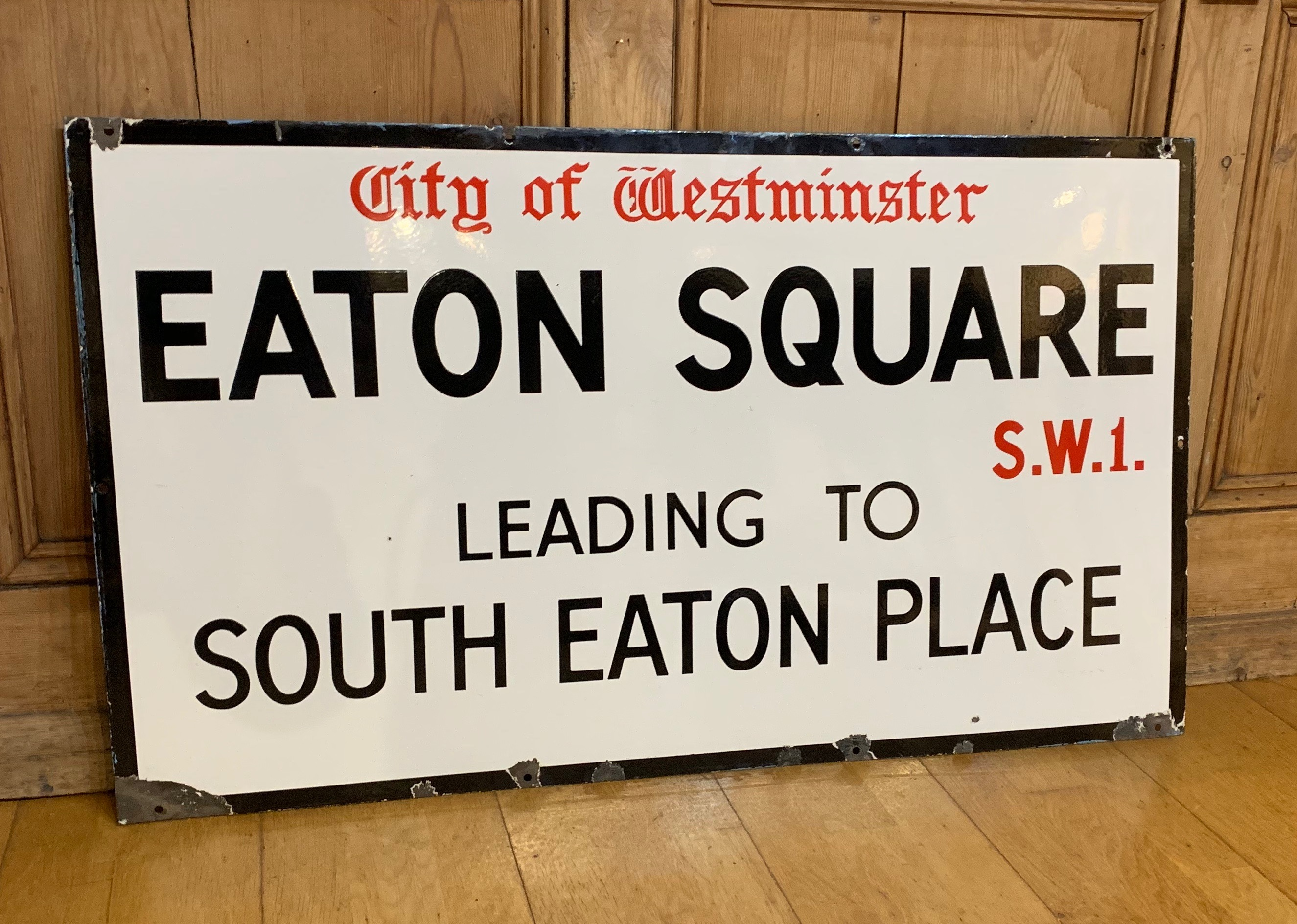 Eaton Square, South Eaton Place, Westminster SW1.