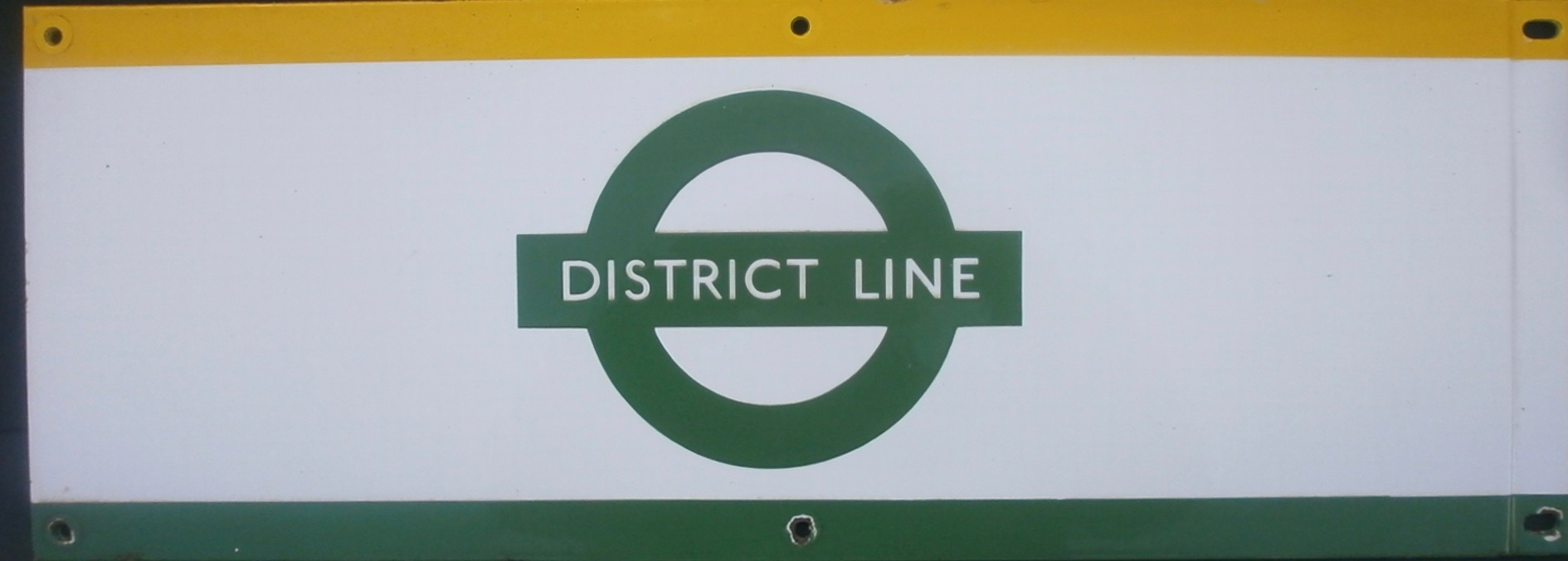 District Line Frieze Panel