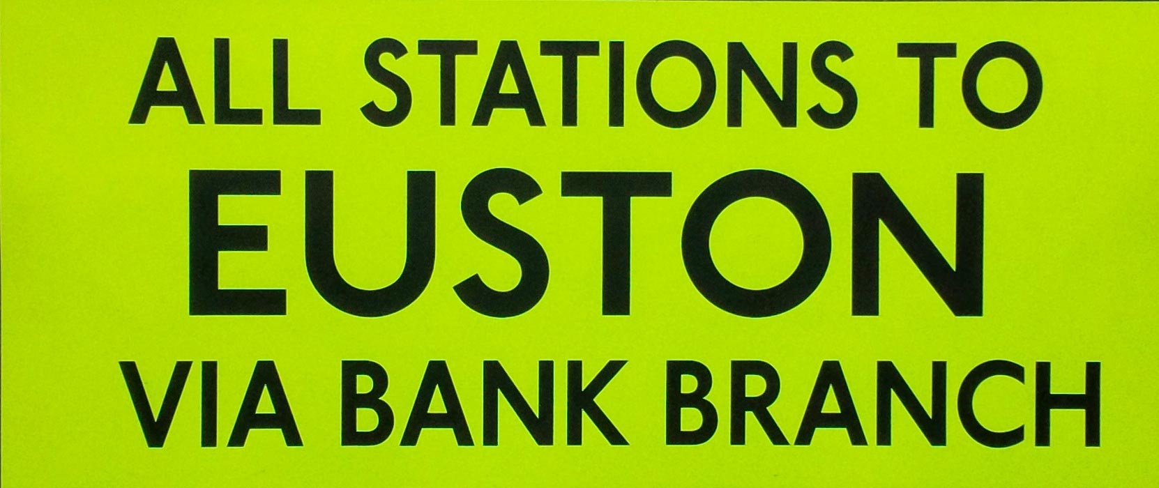 All Stations Euston Via Bank