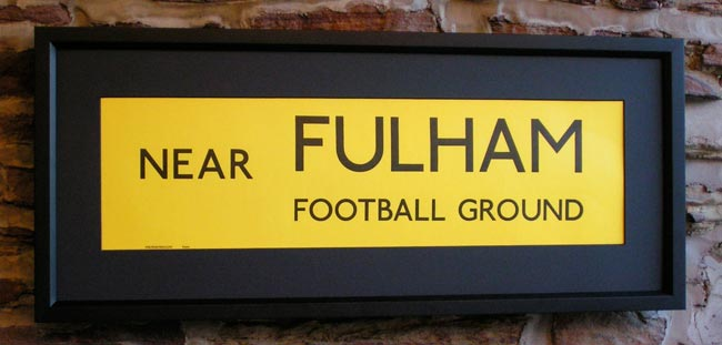 Fulham Football Ground, Craven Cottage.