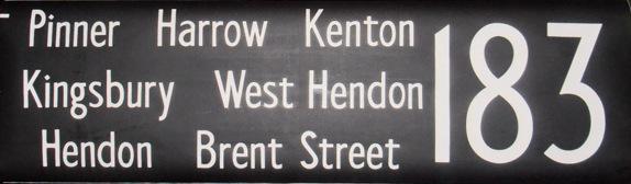 183 Pinner, Harrow, Kenton, Kingsbury, West Hendon, Hendon, Brent Street
