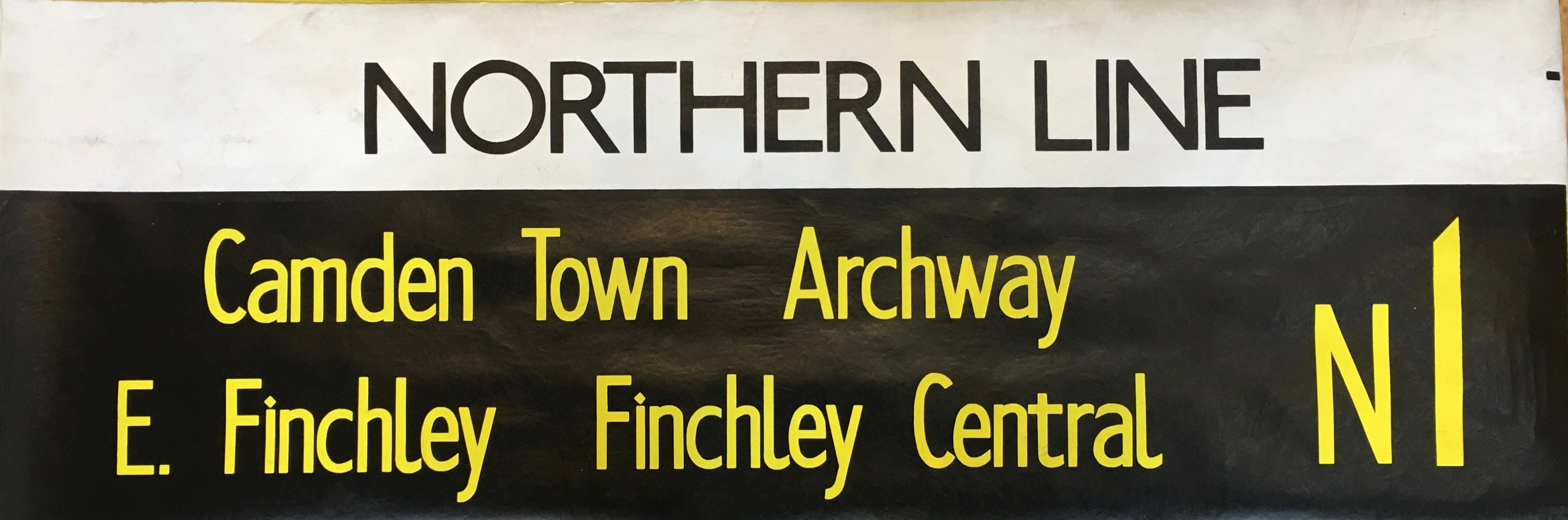 Northern Line, Camden Town, Archway, Finchley