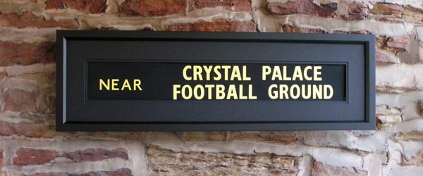 Crystal Palace Football Ground
