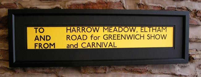 Harrow Meadow, Eltham Road, Greenwich Show and Carnival