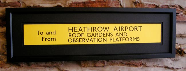 Heathrow Airport, Roof Gardens, Observation Platform