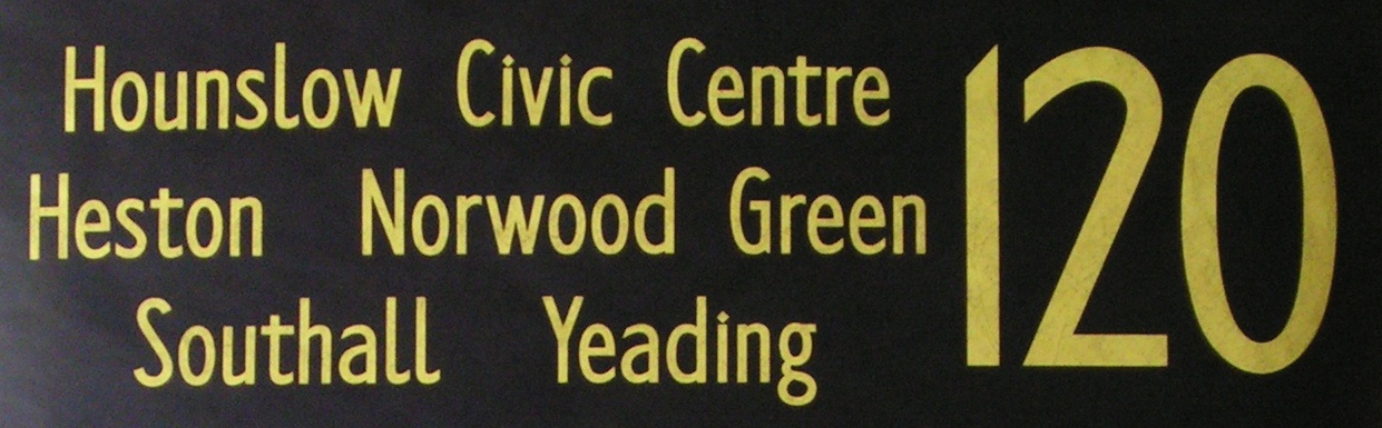 120 Hounslow Civic Centre, Heston, Norwood Green, Southall, Yeading