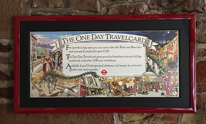 Information Poster The One Day Travelcard, Graham Philpot