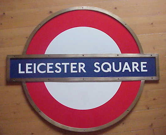Leicester Square Roundel