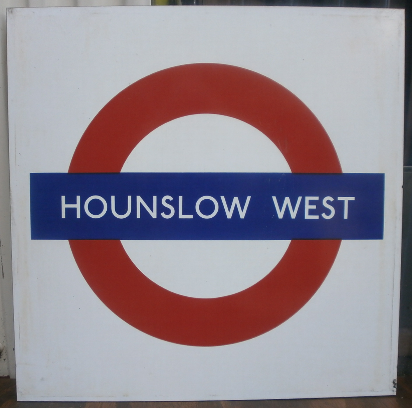 Hounslow West Formica Roundel