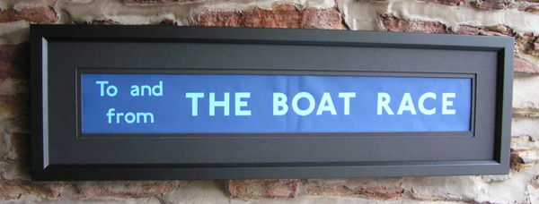 The Boat Race - Medium