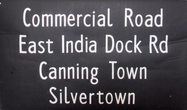 Commercial Road, East India Dock Road, Canning Town, Silvertown